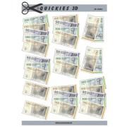 3D ark danske pengesedler