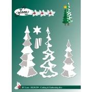 By Lene die - juletræer
