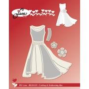 By Lene die - kjole