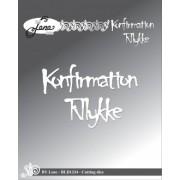 By Lene die - Konfirmation - Tillykke