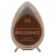 Stempelpude chokolade 3 x 4 cm.