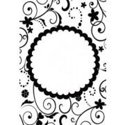 Embossing folder cirkel