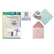 Kuvert & kort mager m/punch & falseben  til små kort