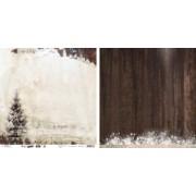 Studio Light Scrapbooking papir Winter Trails 30,5 x 30,5 cm. 02