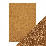 Glitter karton guld A4 250 g.