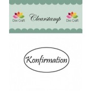 Stempel / clear stamps Konfirmation