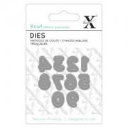 X-cut die - tal 0 - 9