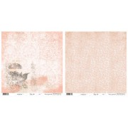 Riddersholm Scrapbooking papir 30,5 x 30,5 cm. Baby Star Girl