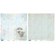 Riddersholm Scrapbooking papir 30,5 x 30,5 cm. Baby Star Boy