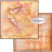 Scrapbooking papir / karton 30,5 x 30,5 cm.  Who Hides