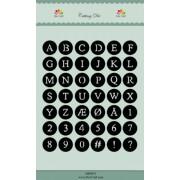 Dixi Craft Die - alfabet og tal