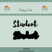Dixi Craft die - Student med baggrund