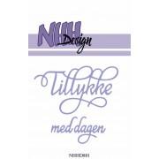 NHH Design die - Tillykke med dagen