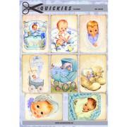 Babymotiver nostalgiske dreng