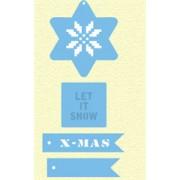 Marianne Design die -  let it snow - x-mas