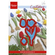 Marianne Design die - tulipaner