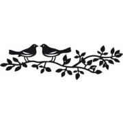 Marianne Design die - fugle på gren