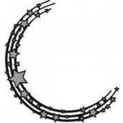 Marianne Design die - halvcirkel med stjerner