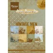 Vintage papirpakning A5 mænd 32 ark