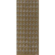 Stickers sutter guld 1870
