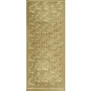 Stickers stork guld 1869