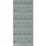Stickers due, sangbog m.m. sølv 655