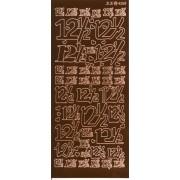 Stickers 12½ kobber 4268