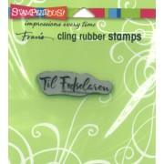 Stempel - Cling Rubber - Til fødselaren