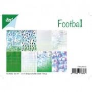 Joy papirblok A4 12 ark dobbeltsidet fodbold