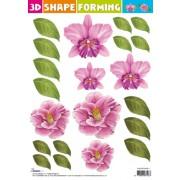 3D blomster formning 3