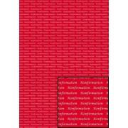Tekstark A4 konfirmation hvid på rød