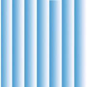 Karton skyggestriber blå 14 x 28 cm.
