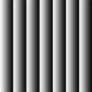 Karton skyggestriber grå/sort 14 x 28 cm.