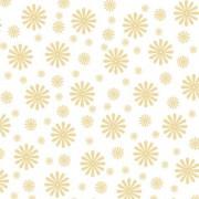 Karton blomst creme 14 x 28 cm