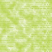 Tillykkekort 14 x 28 cm. lime / marmoreret