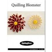 Quillinghæfte med blomster