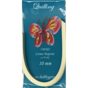 Quillingstrimler 10 mm. x 290 mm.  creme majestic
