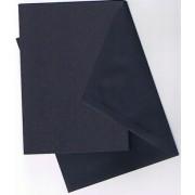 25 kort (A5) med kuverter (C6) mørkeblå