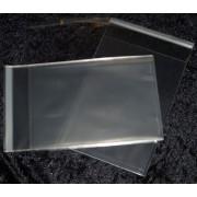 Cellofanposer C6 13 cm x 18 cm klar m/ limluk