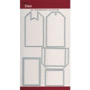 Dan dies Basic - folde mærke tilbehør - lag, lomme og låge