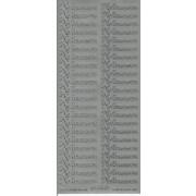 Stickers Velkommen sølv 636