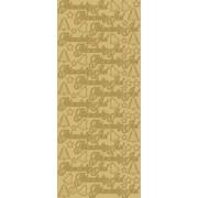 Stickers glædelig jul guld 654