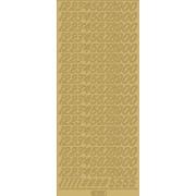 Stickers tal guld 1032