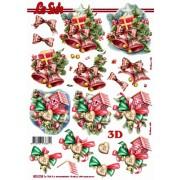 3D ark juleklokker m.m.