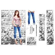 3D ark ung pige v. murstensvæg A5