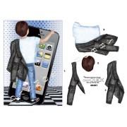 3D ark dreng med iphone A5
