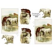 3D ark heste