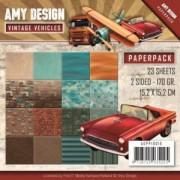 Amy Design papirblok 23 ark 15,2 x 15,2 cm.