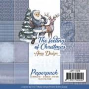 Amy Design papirpakning 23 ark 2 sidet 15,2 x 15,2 cm