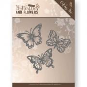 Jeanines art die - sommerfugle med skygger